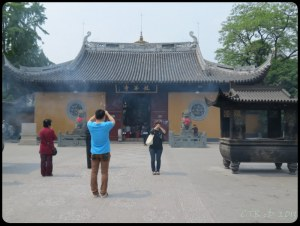Longhua Temple - just inside the main entrance
