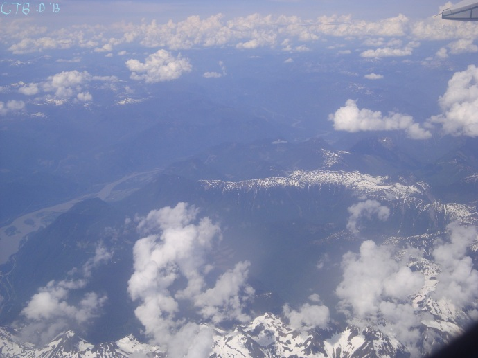 Rocky Mountains - a view from above