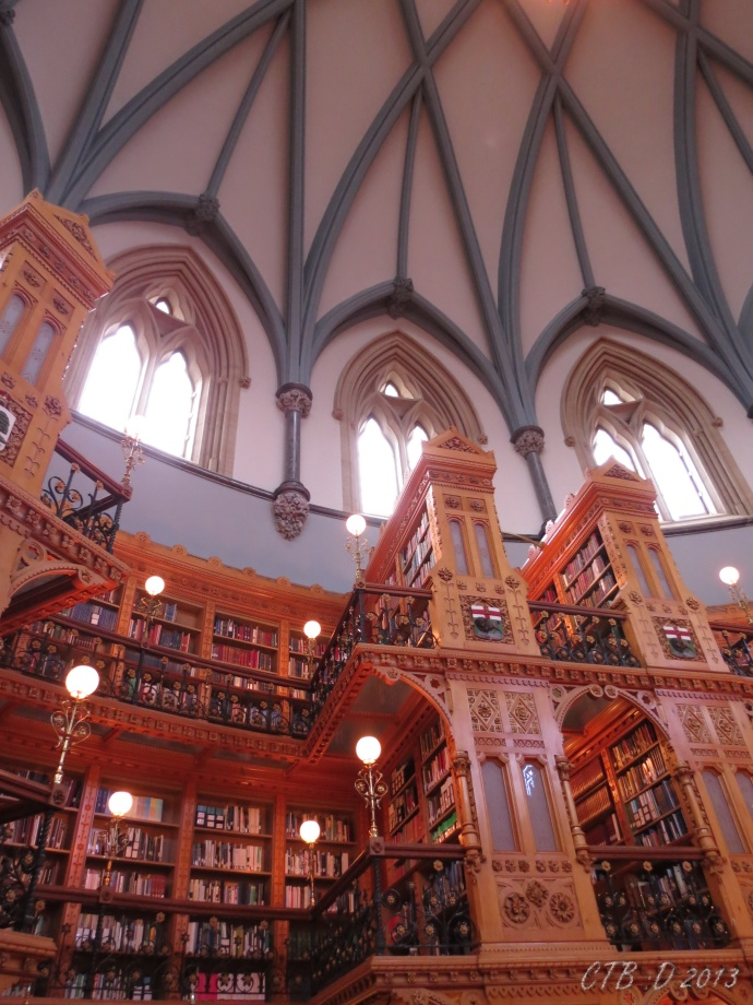 3 floors of books and a domed roof