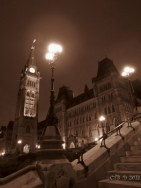 The Peace Tower at Night