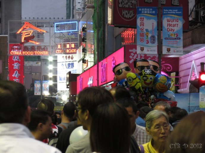 Crowds, Neon Signs and so Many Things To See