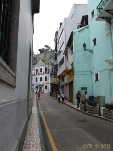 Macau's European Style Streets