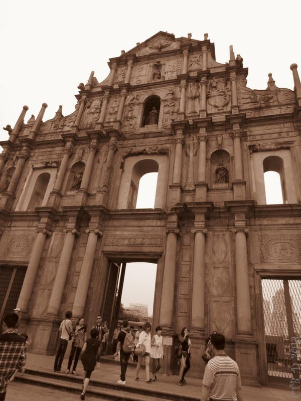 St Paul's Ruins -Macau
