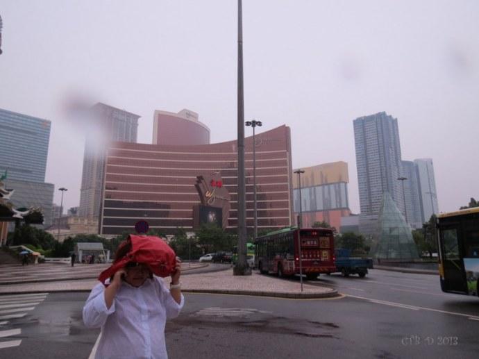 rainy days in Macau