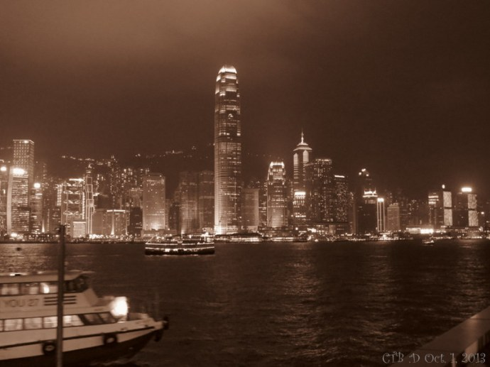 Hong Kong at Night... What a view of the world