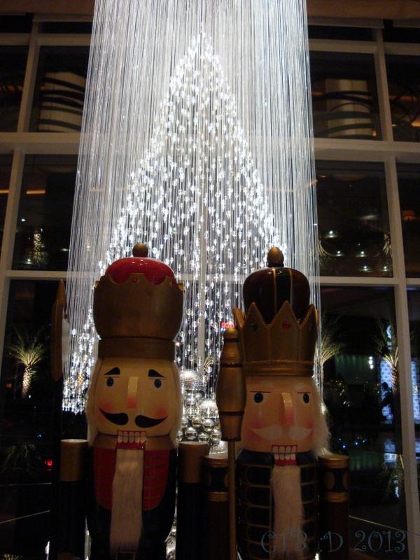 Bright dazzling Christmas Tree lights