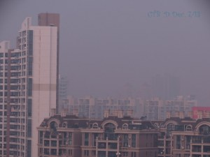 Shanghai Skyline Dec 6, 2013. Where did it go?