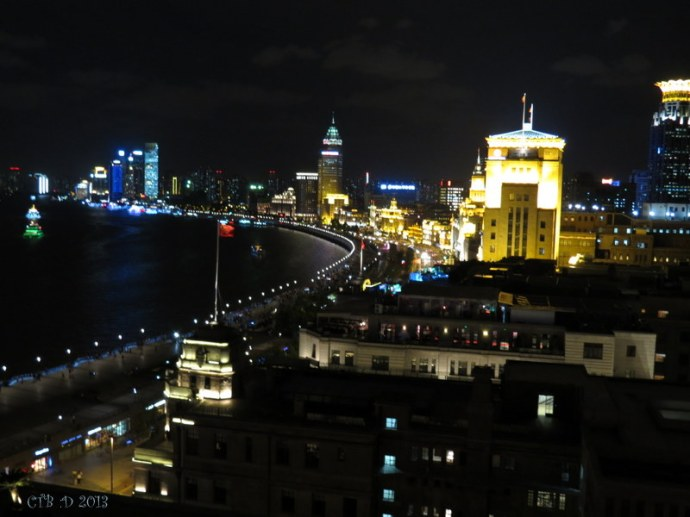 Shanghai at Night -Puxi side