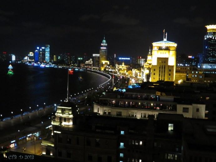 Shanghai at Night -Puxi side