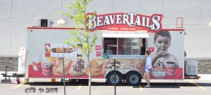 A portable beaver tail truck! Just for you Bastet!