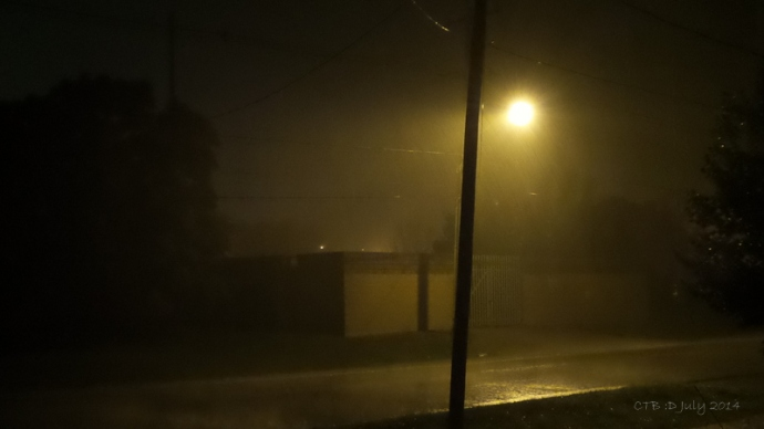 Heavy rain storm - July 2014 Fonthill, ON