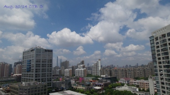 Beautiful Blue Sky Aug. 2014 Levels very good with <50