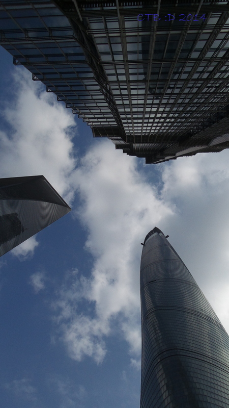 World Financial Tower and Jin Mao Tower, Shanghai