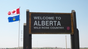 Finally made it to Alberta