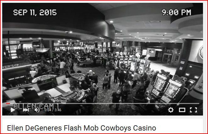 Ellen Video Flash Mob