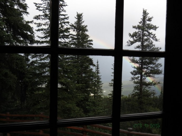 Room with a Rainbow View